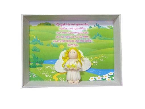 "Cuadro 3D ""Angelita flores"""
