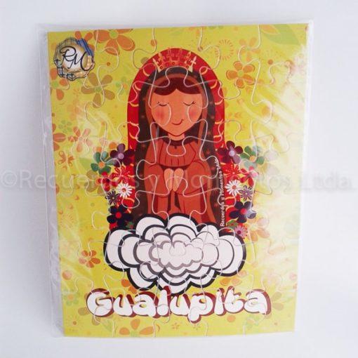 Puzzle Virgencita Gualupita