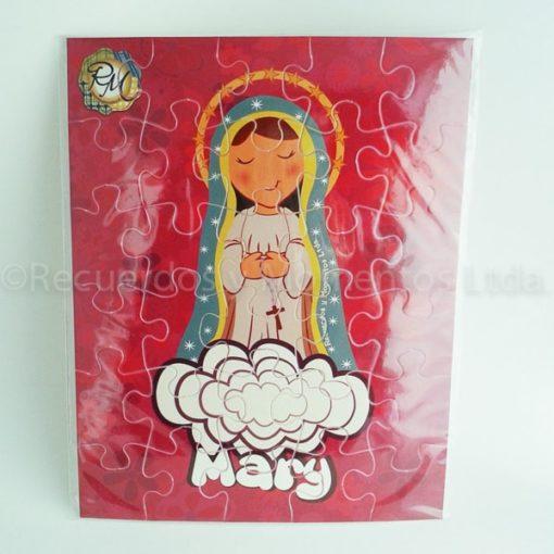 Puzzle Virgencita Mary