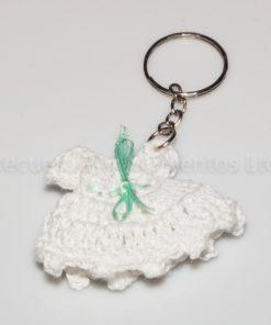 Llavero, vestido crochet