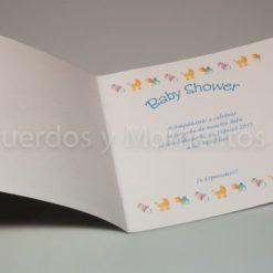 Tarjeta Baby shower